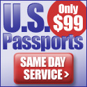 US passports, only $99  Same Day Service